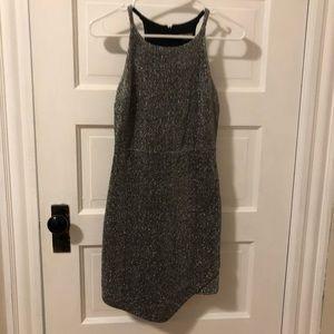 Silver Express Dress